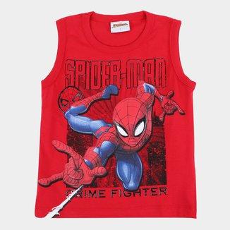 Regata Bebê Marvel Spider Man Masculina