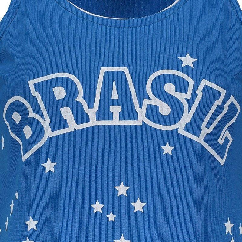 Azul Araguaia Araguaia Brasil Feminina Regata Regata Brasil Feminina Azul c8ndWHwwFq