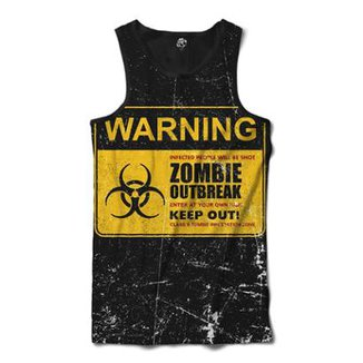 Regata BSC Zombies Zona infectada 6 Sublimada Masculina