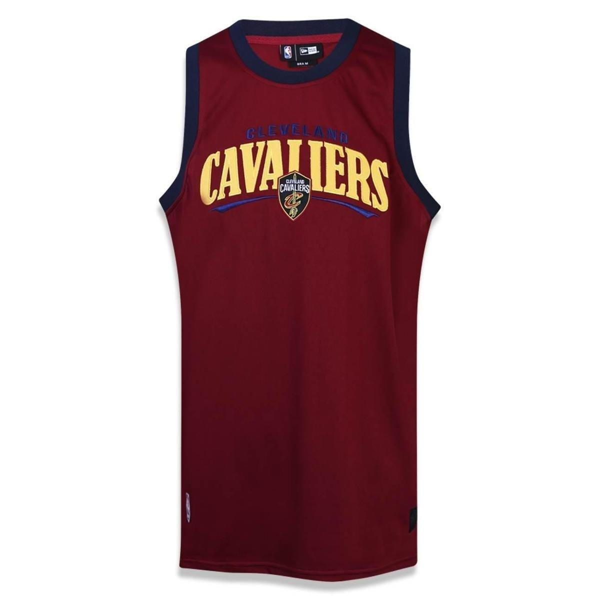 Regata Cleveland Cavaliers NBA New Era Masculino - Vinho - Compre Agora  b3dfc67c4fc