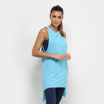 Regata Colcci Fitness Tela Assimétrica Feminina - Feminino