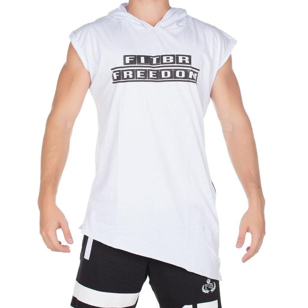 Regata Fit Training Brasil Long C  Capuz Masculina - Branco - Compre Agora   23bc951f2c3