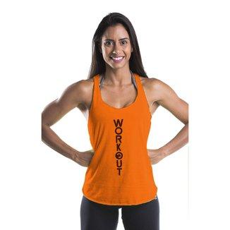 Regata Fitness Viscolycra Feminina - Laranja