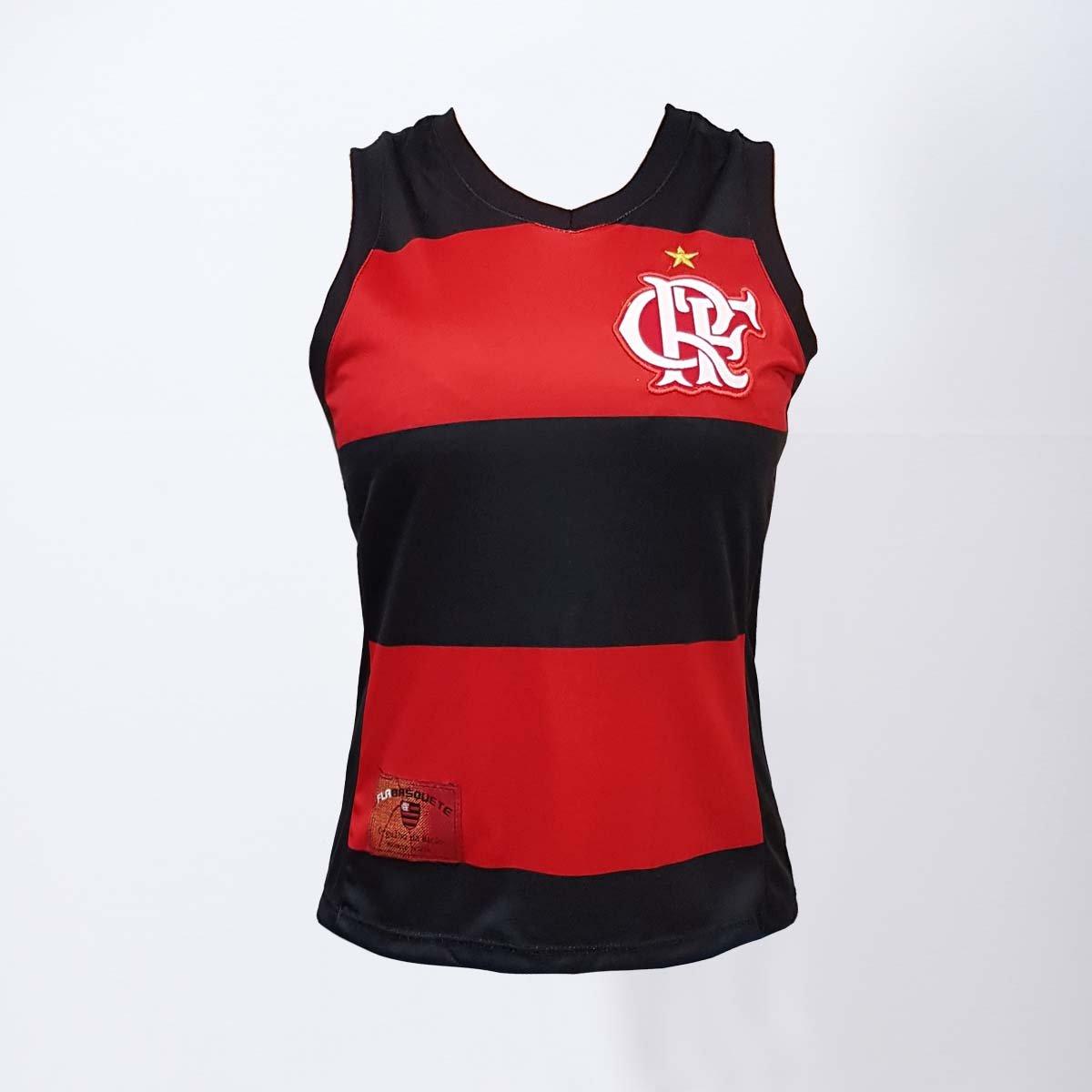 cb03450b2e Regata Flamengo Decote V Hoop CRF - Compre Agora