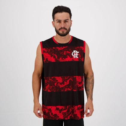 Regata Flamengo Provide Preta e Vermelha