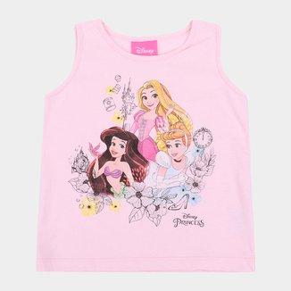 Regata Infantil Disney Princesas Feminina