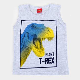 Regata Infantil Kyly T-Rex Masculina