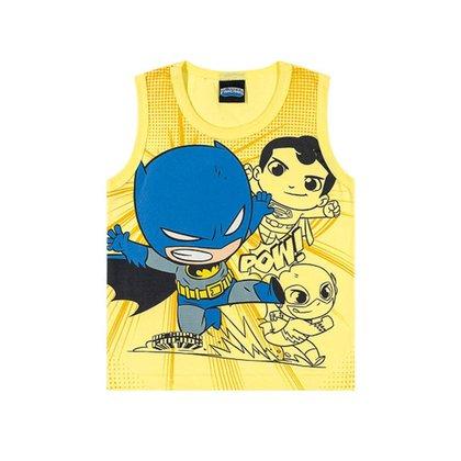 Regata Infantil Masculina Bebê DC Super Friends - VERMELHO - 2