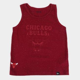 Regata Juvenil New Era NBA Chicago Bulls New Era Masculina