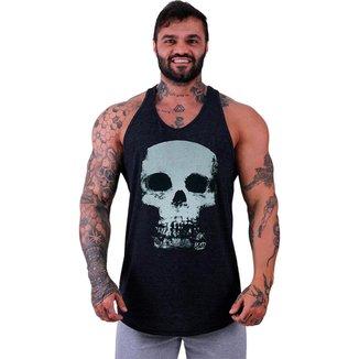 Regata Longline MXD Conceito Classic Skull   Masculina