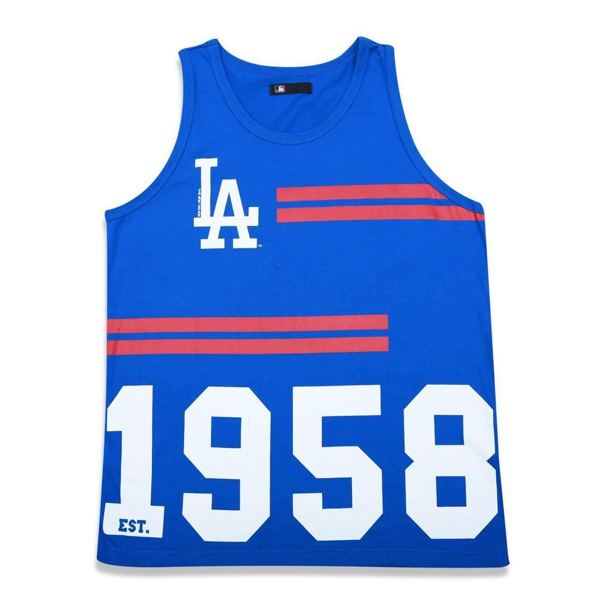 Regata Los Angeles Dodgers MLB New Era Masculina - Compre Agora ... ecd77f16d66