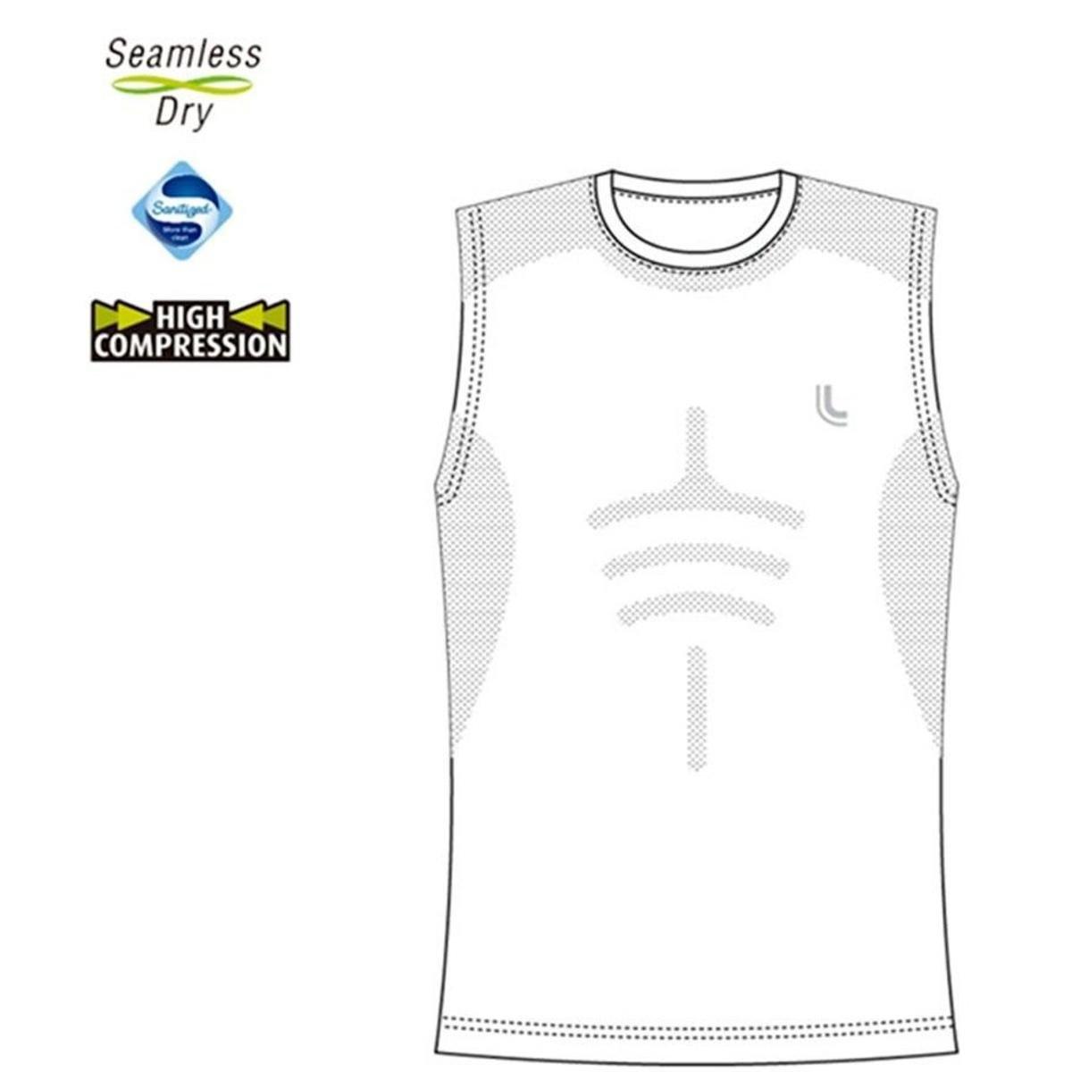 Regata Lupo Compressão Sport Run Masculina - Branco - Compre Agora ... add1e67cdc3d1