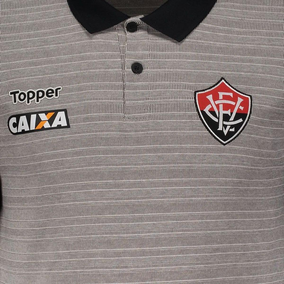 9908f69f05 Regata Machão Topper Botafogo Treino 2017 Atleta - Cinza - Compre ...