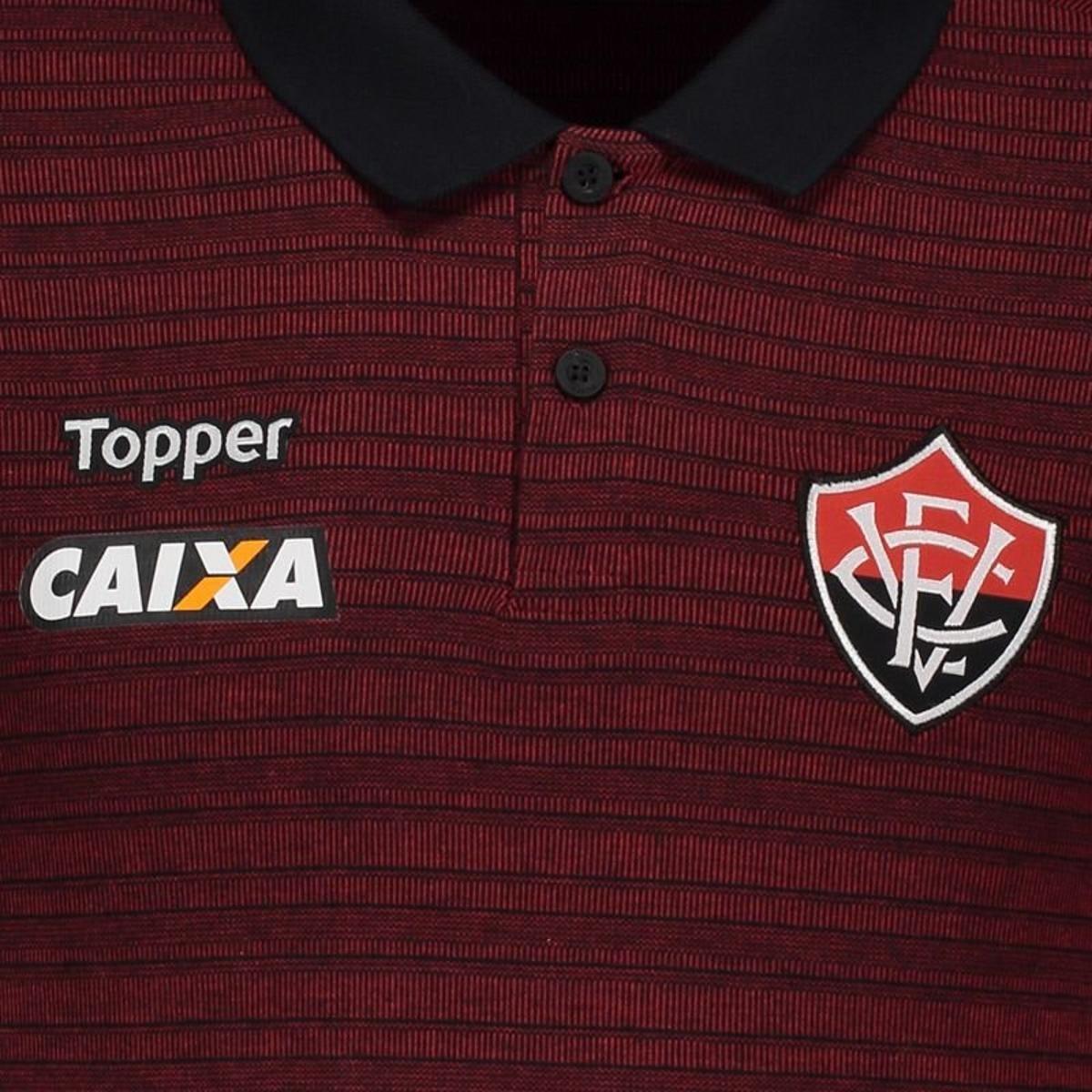 Regata Machão Topper Botafogo Treino 2017 Atleta - Vermelho - Compre ... 7c81128f6dc63
