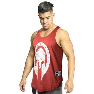 Regata Masculina de Treino Tradicional Sparta XXI Vermelha Vermelho GG