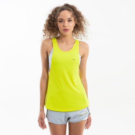 Regata Movement Fluor - Amarelo