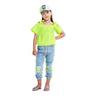 Regata Neon Infantil N1604 Animê