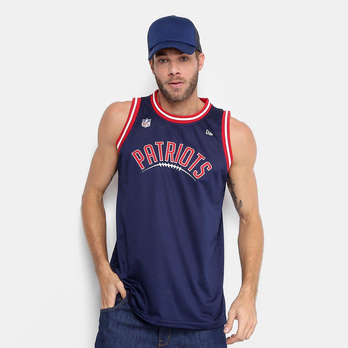 Regata NFL New England Patriots New Era Sports Vein Neepat Masculina -  Marinho - Compre Agora  84c8c7797f1bd