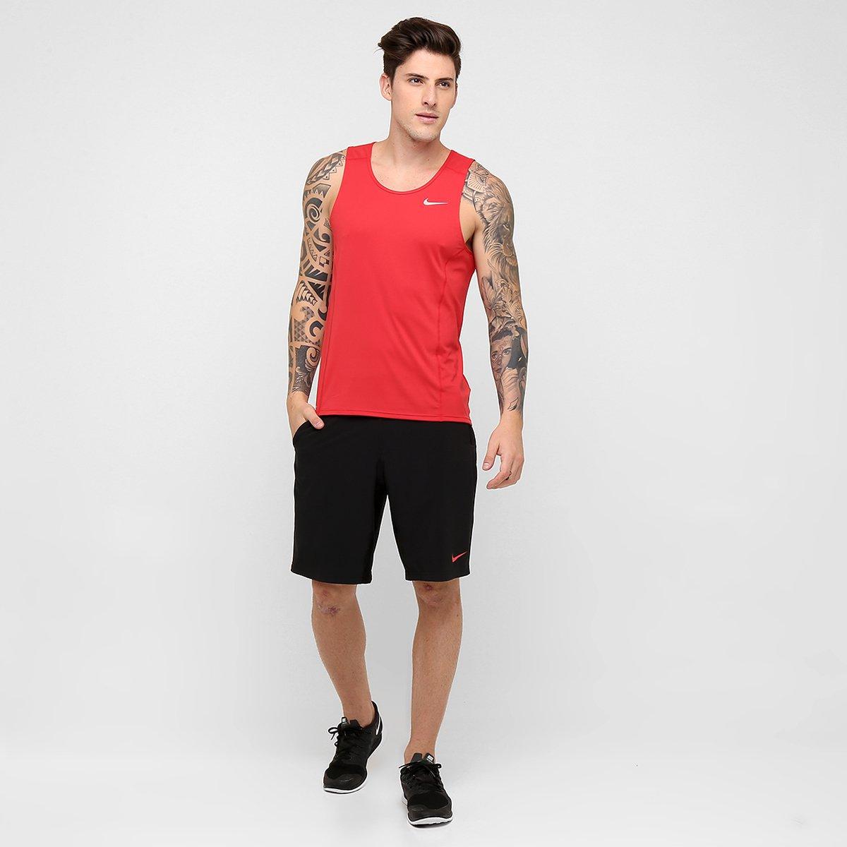c48f4f0c5e Regata Nike Dri-Fit Miler Singlet Masculina - Compre Agora