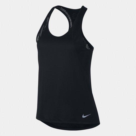 Regata Nike Dri-Fit Run Feminina - Preto