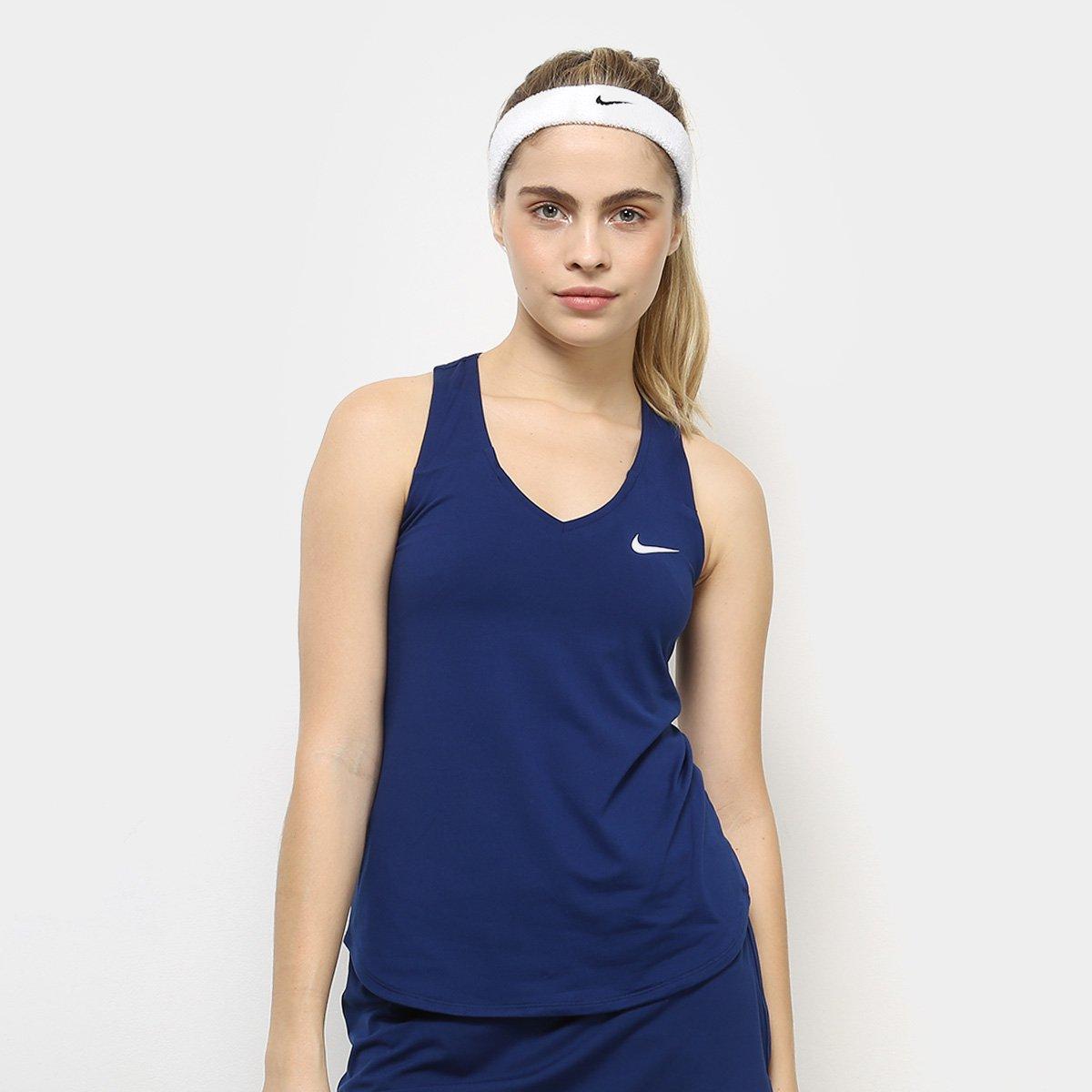 Nike Regata Nike Pure Feminina Marinho Regata Feminina Pure 5UIR4q1w
