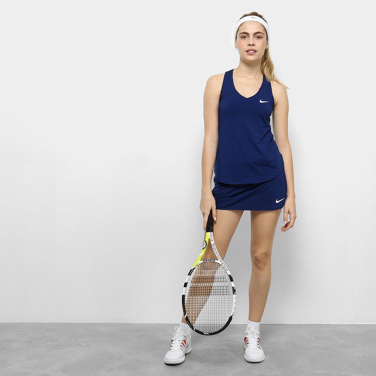 Nike Pure Pure Regata Marinho Feminina Nike Feminina Regata wURqZ7KIg