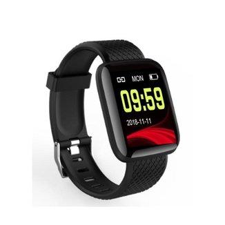Relógio A6 SmartWatch Fitness Inteligente Monitor Esportes