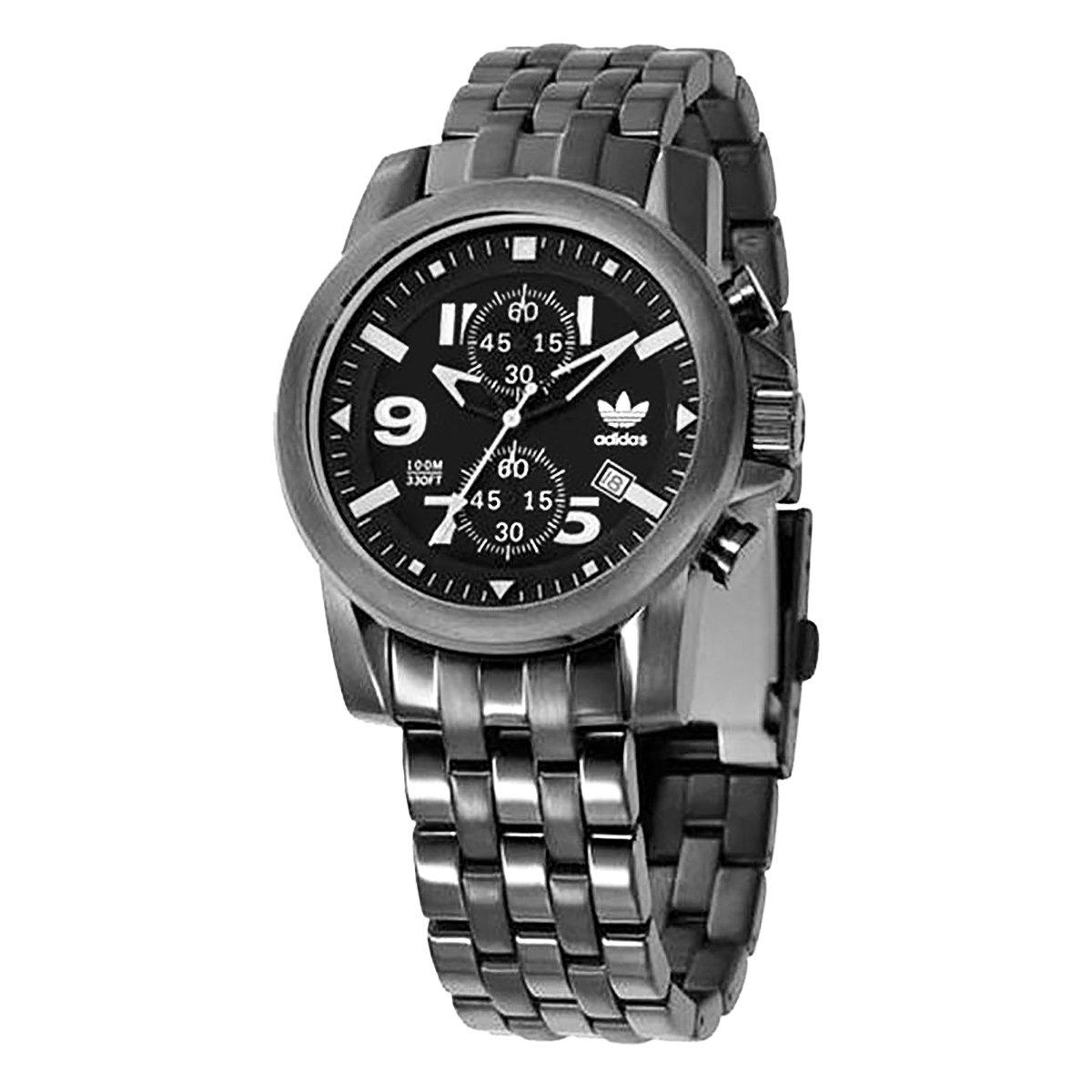 26b1f0540ea7b Relógio Adidas Trefoil Flyboy Chrono - Compre Agora   Netshoes