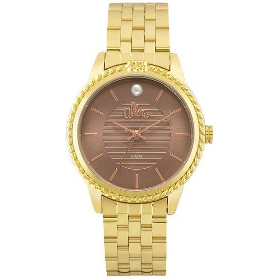 Relógio Allora Al2035Fkv/4M - Dourado