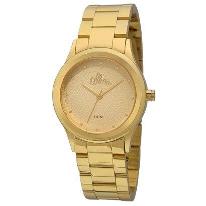 c014159a9f0 Relógio Allora Feminino Flores Geométricas - Compre Agora