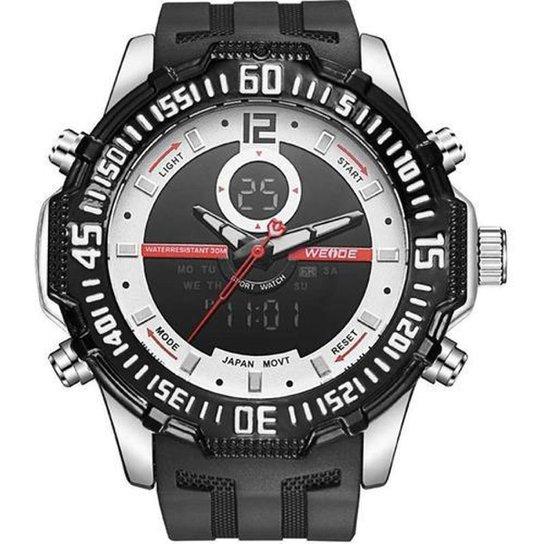 Relógio Anadigi Weide 10358 Masculino - Preto