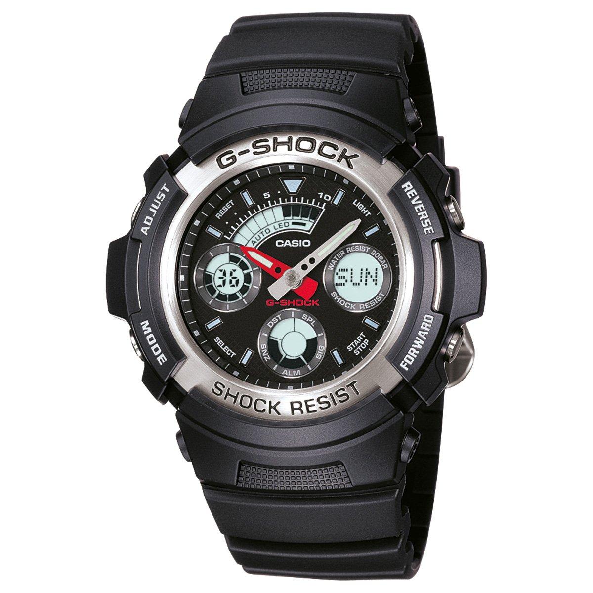 f5db03c17b3 Relógio Analógico Digital G-Shock AW-590-1ADR Masculino - Compre ...