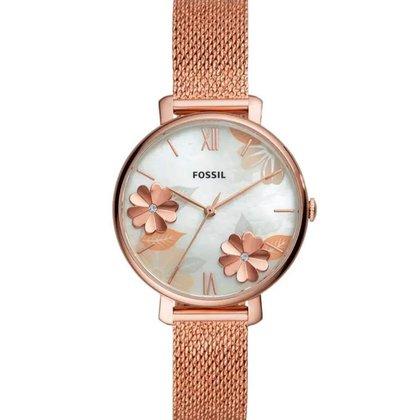 Relógio Analógico Feminino Rosê Fossil - ES4534/1JN