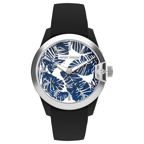 Relógio Analógico Mormaii Mo2035In-8P Feminino - Preto+Azul
