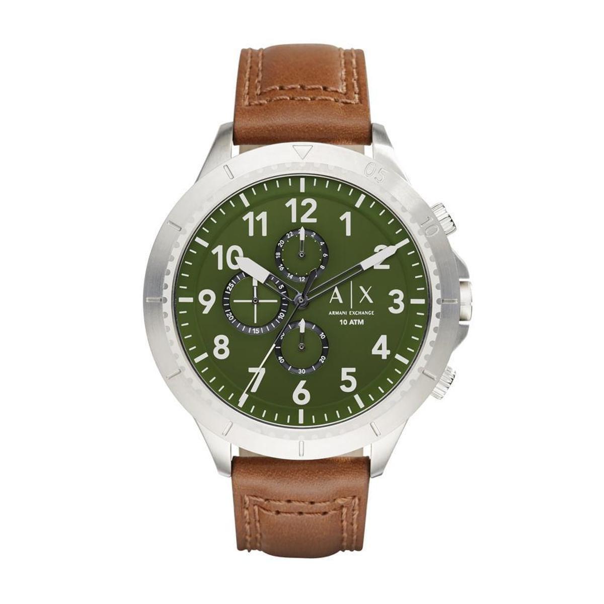 964af9ac5c571 Relógio Armani Exchange AeroRacer Masculino - Compre Agora