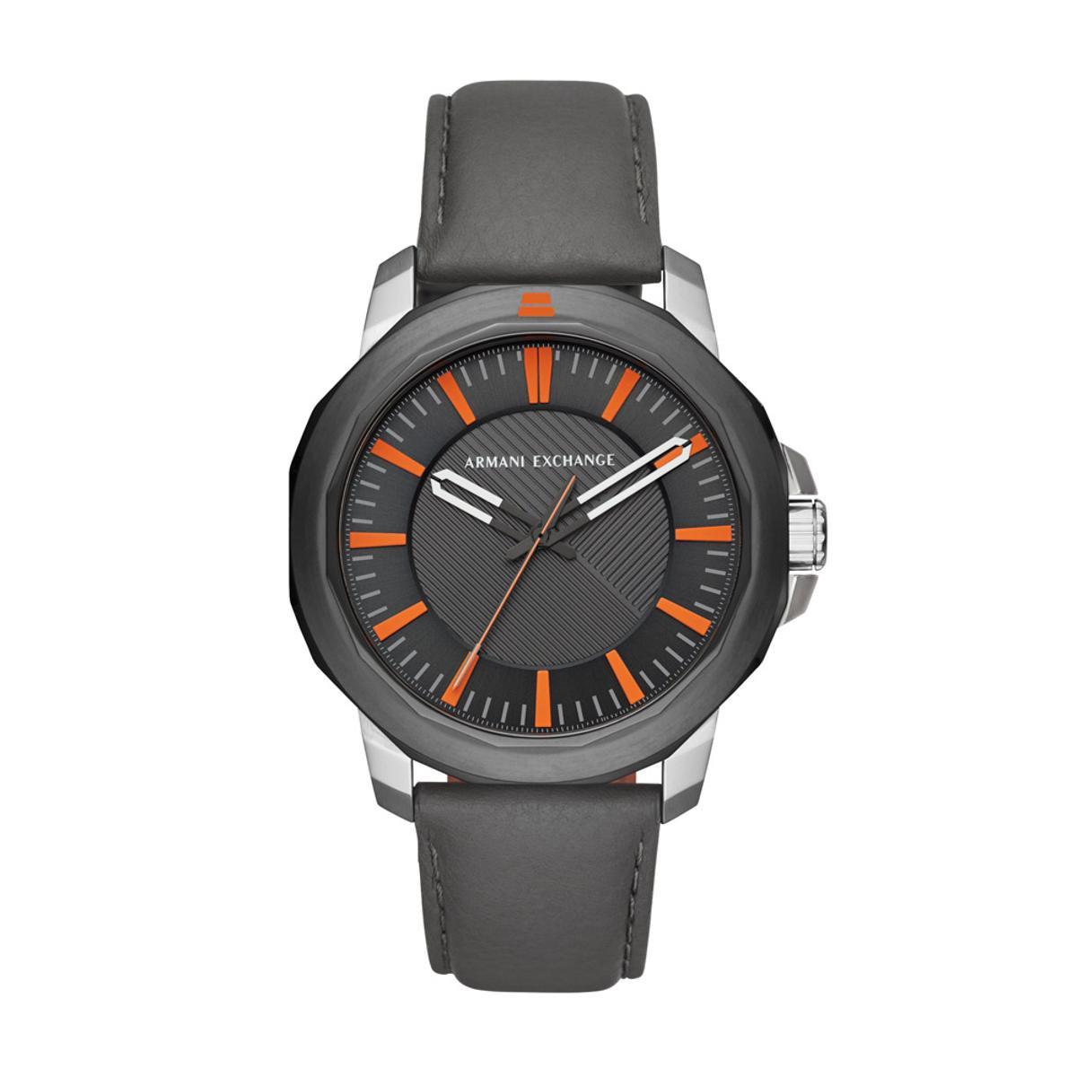 1956a3edbfa51 Relógio Armani Exchange Classic Ryder Masculino - Cinza - Compre Agora