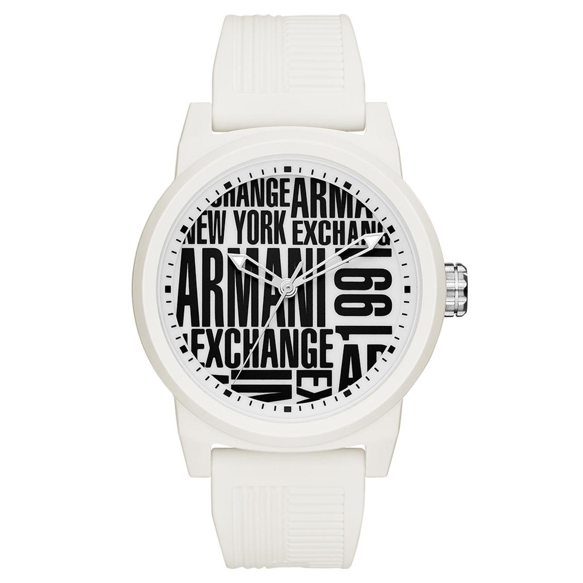 941b2a7e433 Relógio Armani Exchange Masculino Atlc - AX1442 8BN AX1442 8BN - Branco -  Compre Agora