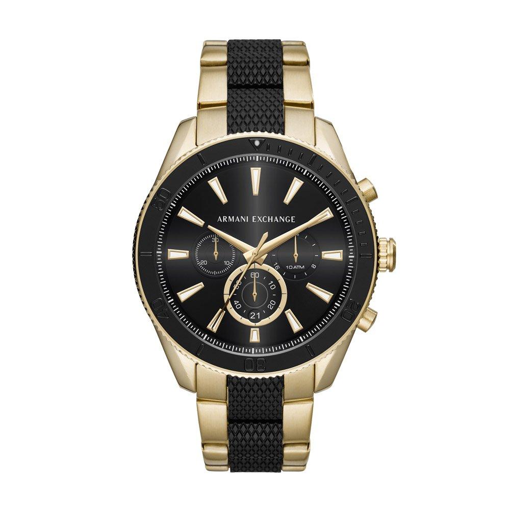 4525dfeb4cc04 Relógio Armani Exchange Masculino Enzo - AX1814 1DN AX1814 1DN - Preto e  Dourado - Compre Agora