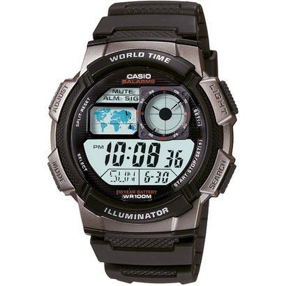 Relógio Casio AE - 1000W - 1B - Masculino - Preto