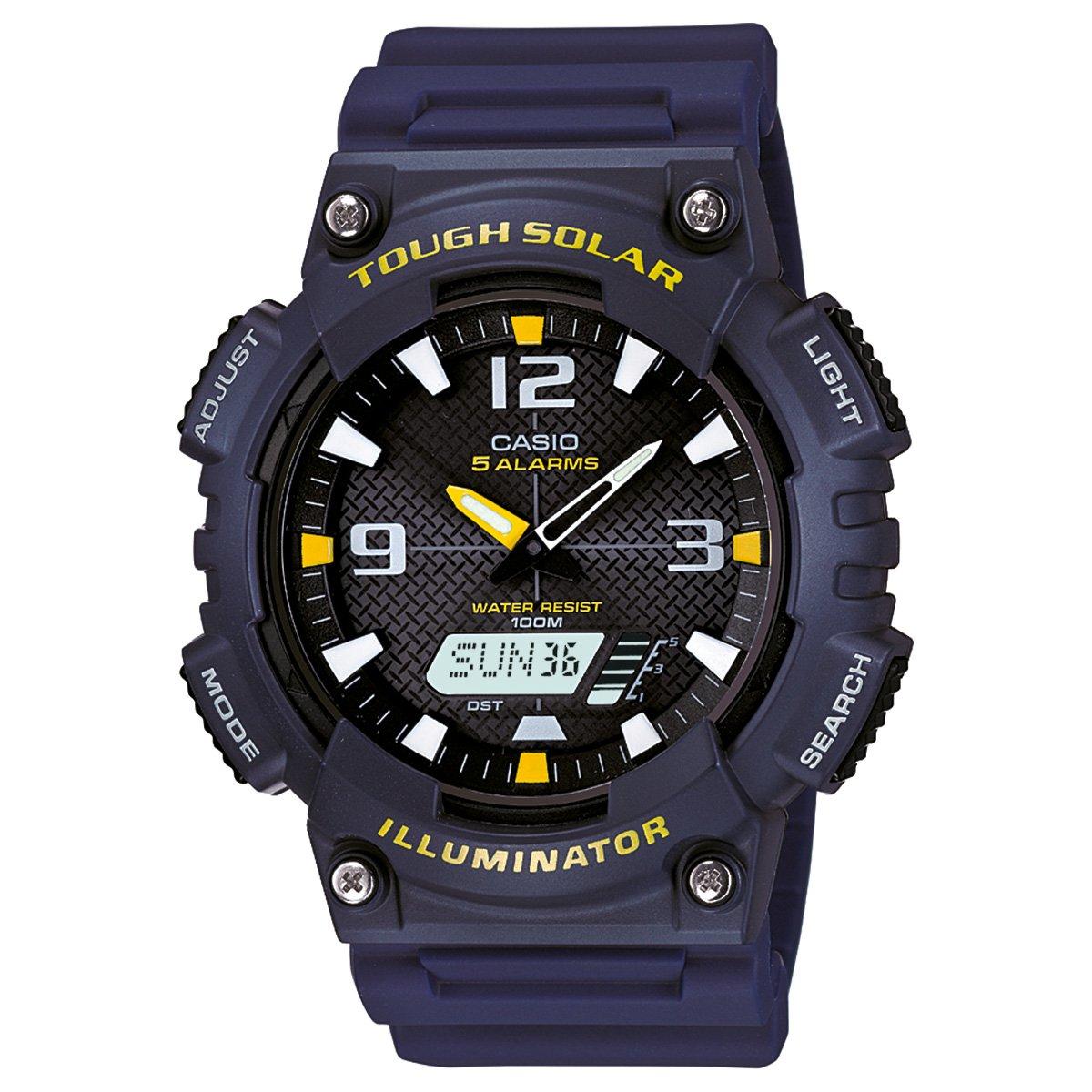 3507d61b129 Relógio Casio Analógico Digital AQ-S810W-2AVDF - Azul Escuro - Compre Agora