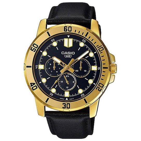 Relógio Casio Collection Masculino MTP-VD300GL-1EUDF - Dourado