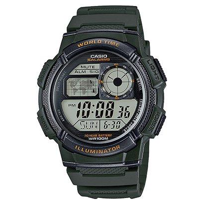 Relógio Casio Digital AE - 1000W - Unissex