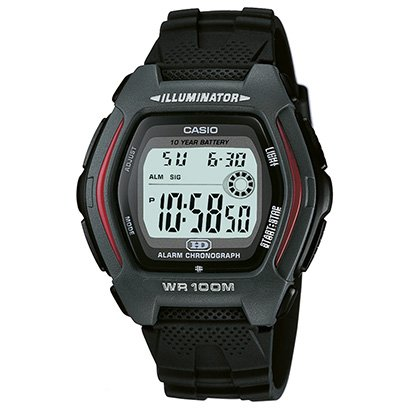 Relógio Casio Digital HDD - 600 - Unissex - Preto