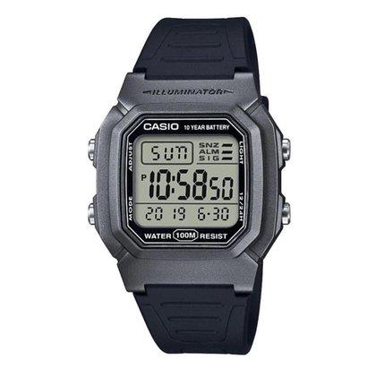 Relógio Casio Digital Standard /Preto W-800HM-7AVDF