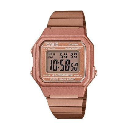 Relógio Casio Digital Vintage Rosê B650WC-5ADF