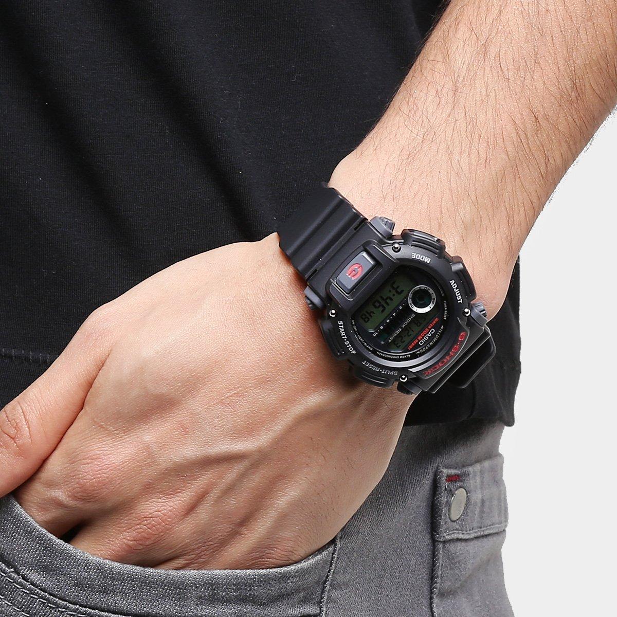 Relgio Casio G Shock Digital Dw 9052 Compre Agora Netshoes 1vdr