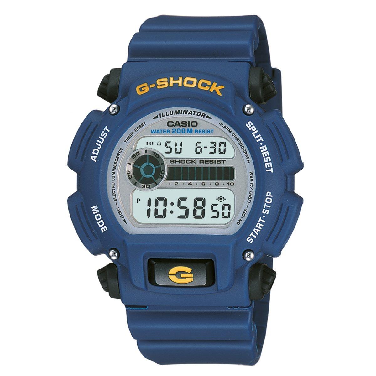 3b0f25e97da Relógio Casio G-Shock Digital DW-9052 - Azul Petróleo - Compre Agora ...