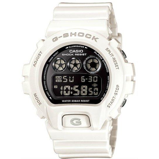 Relógio Casio G-Shock Dw-6900Nb-7Dr - Branco