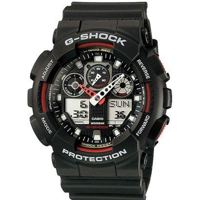 Relógio Casio G - Shock Ga - 100 - 1A4Dr - Unissex - Preto