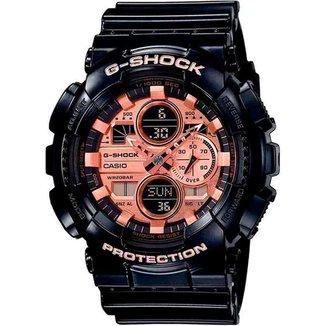 Relógio Casio G-Shock GA-140GB-1A2DR Resistente a choques
